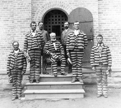 George Q Cannon and other LDS leaders in Prison